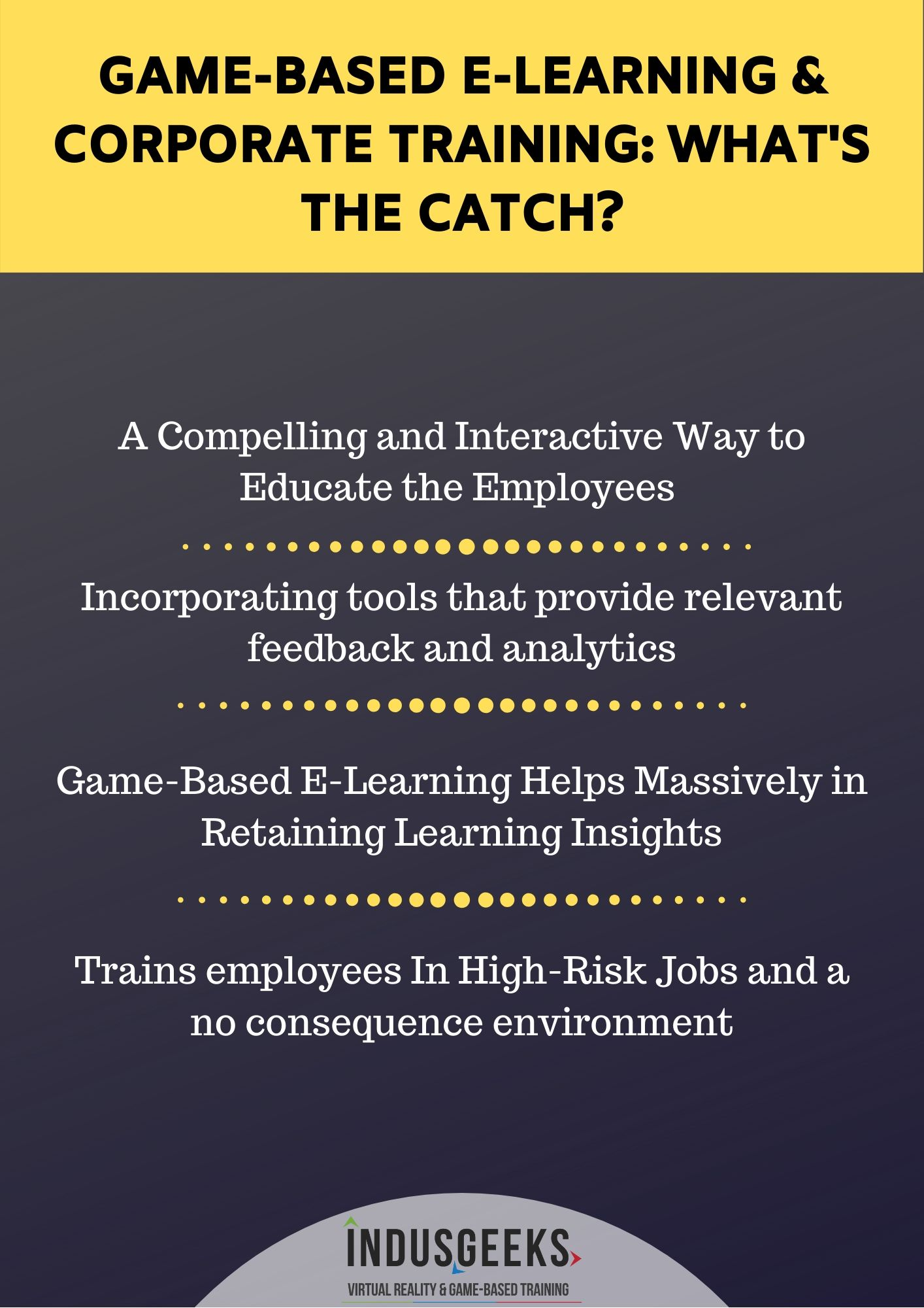 Game based elearning and corporate training