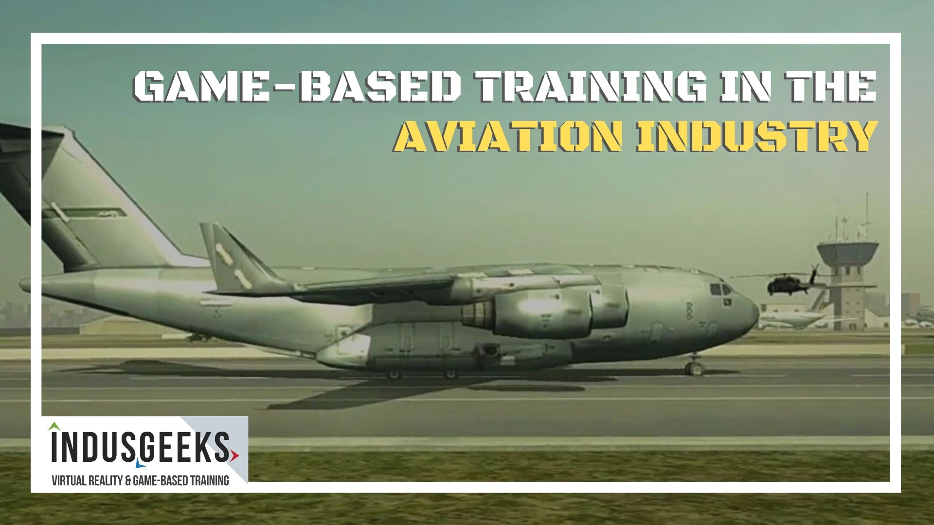 Game-based training in the aviation industry