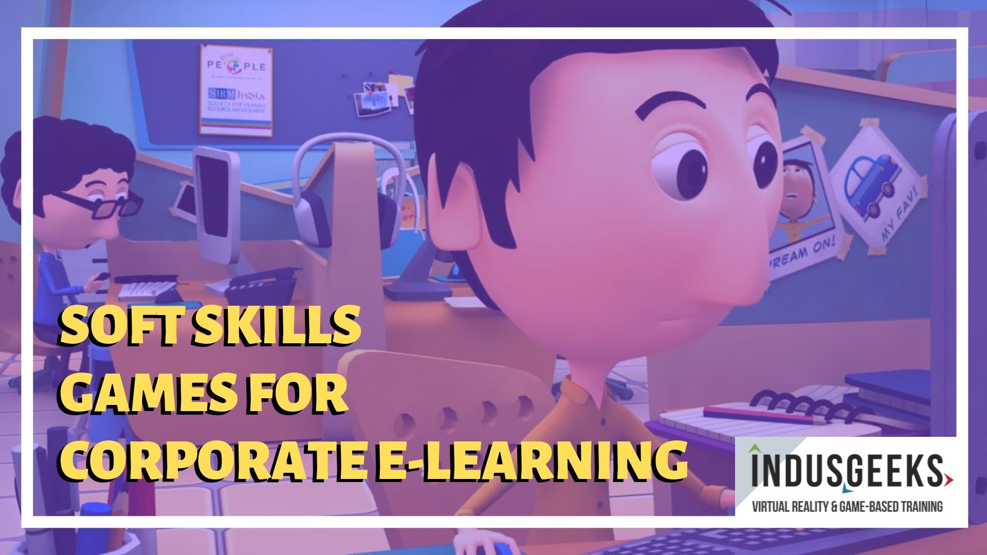 Soft skills games for corporate eLearning
