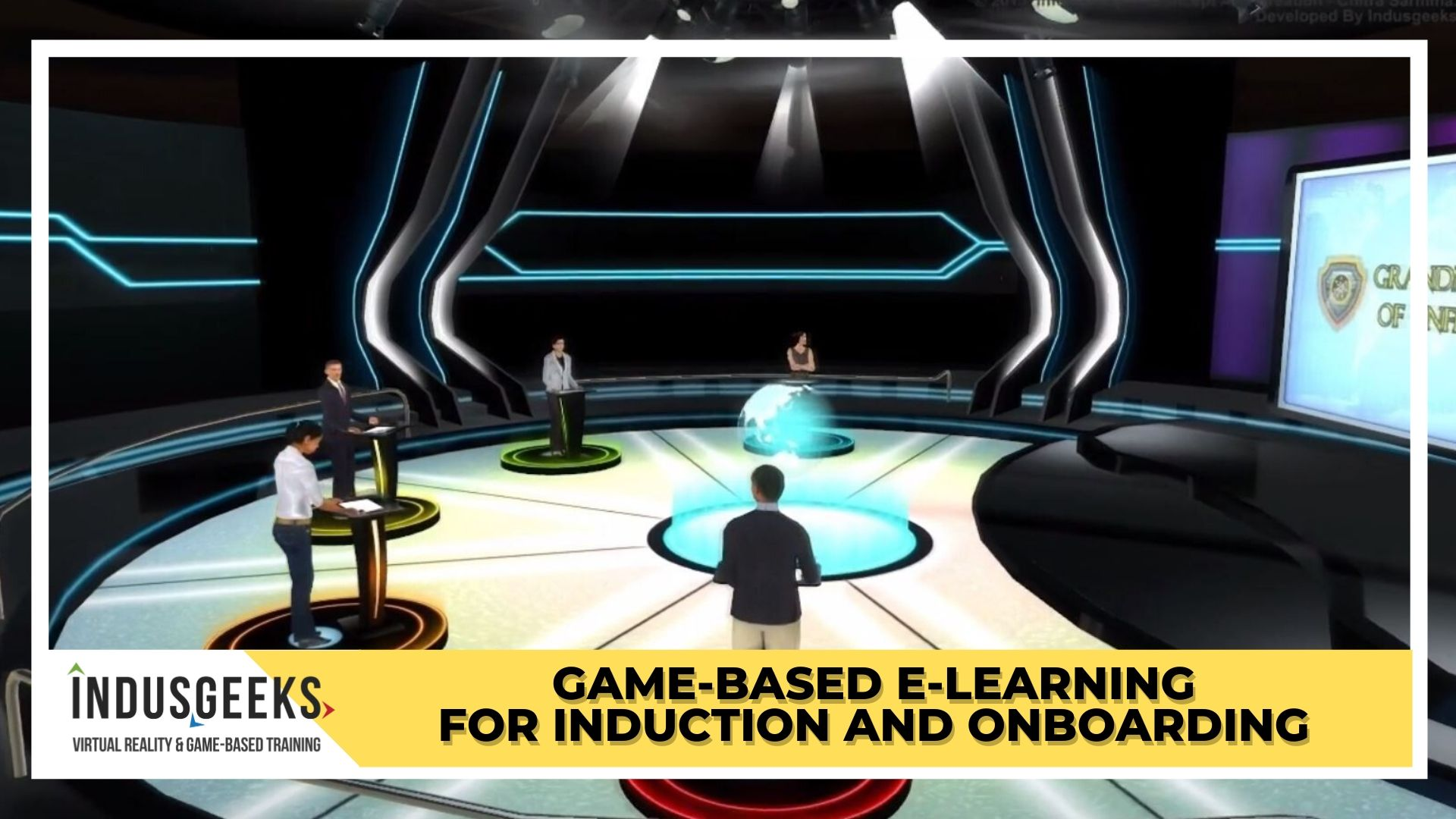 Game-based e-Learning for Induction and onboarding