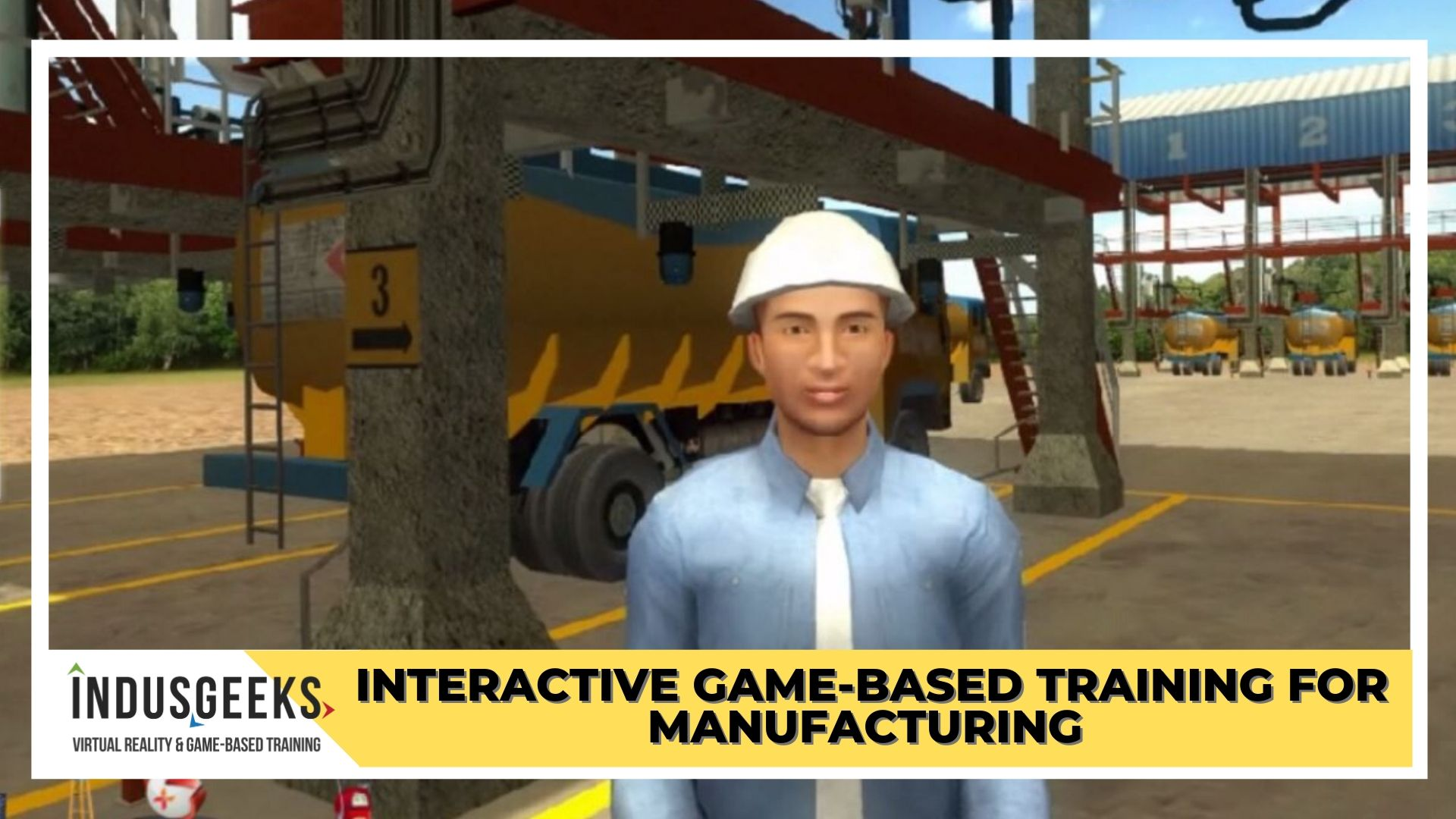 Interactive game-based training for manufacturing