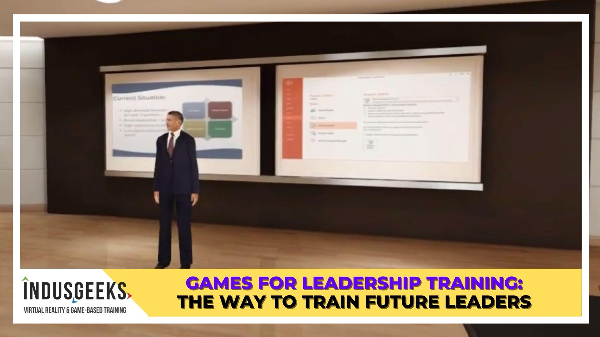 Games for Leadership training