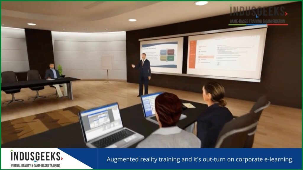 Augmented reality training
