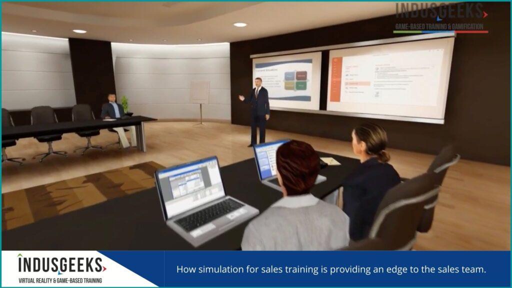 simulation for sales training