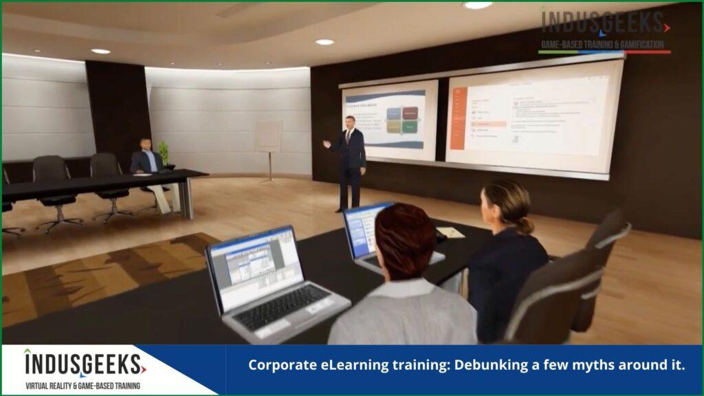 Corporate eLearning training