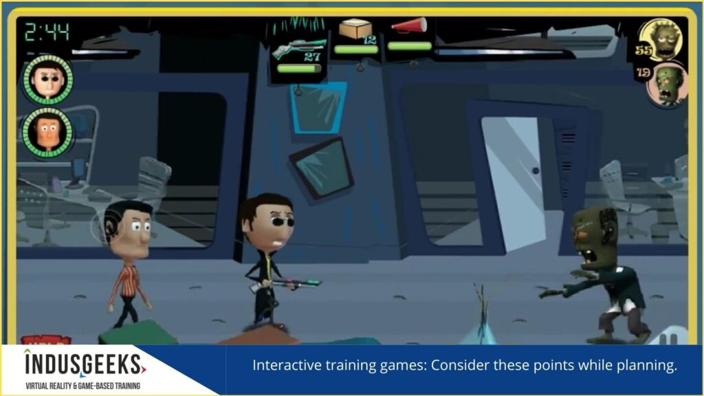 Interactive training games