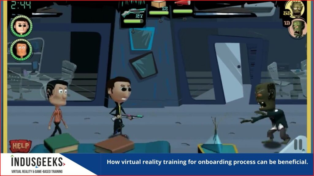 virtual reality training for onboarding