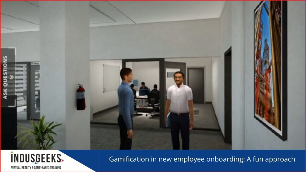 Gamification in new employee onboarding