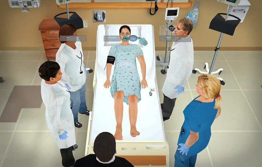 Rapid Healthcare Simulations and Virtual Nurse Training Solutions